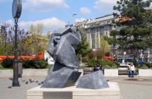Sztehlo szobor